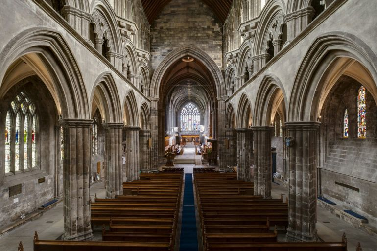Inside Paisley Abbey