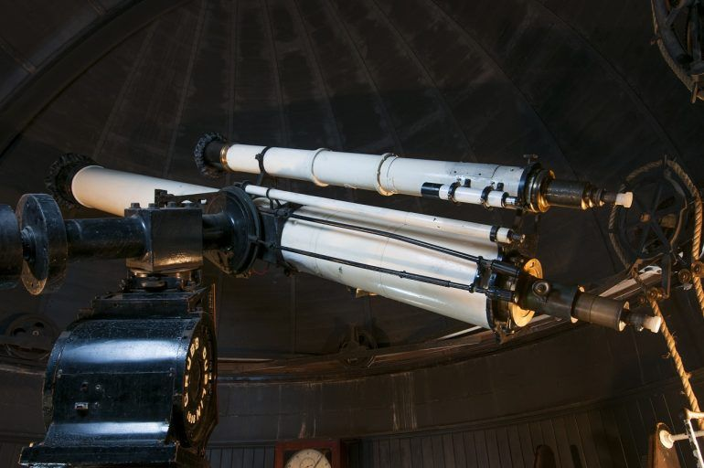 Telescope at Coats Observatory,Paisley
