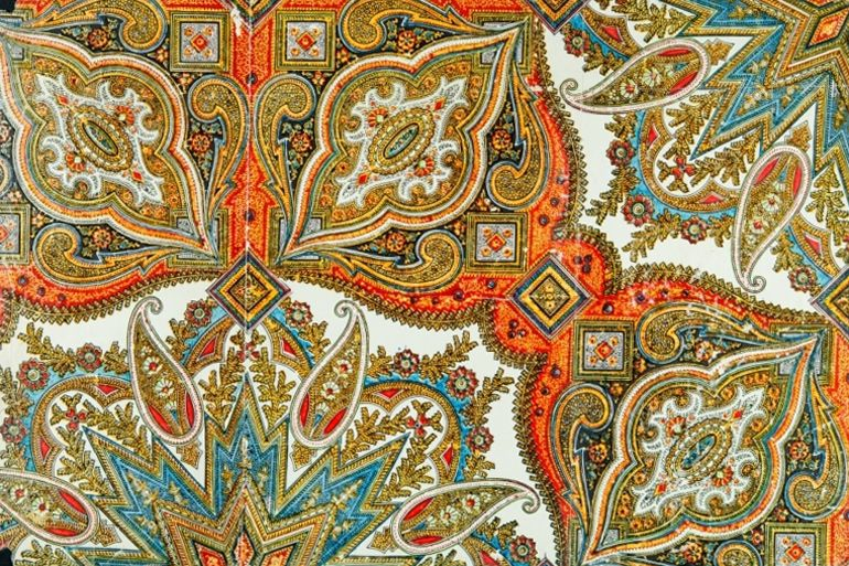a story woven over time paisley