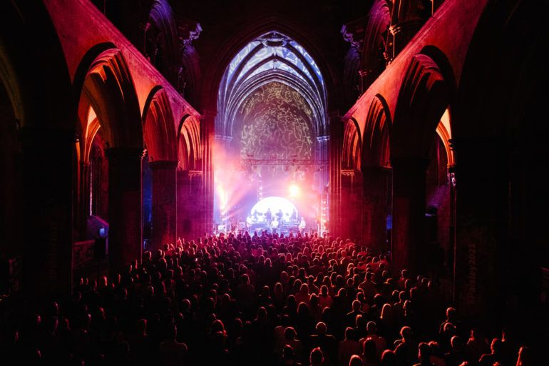Paolo Nutini concert at Paisley Abbey