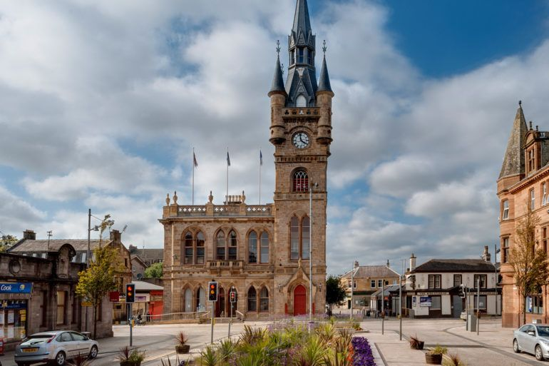 Renfrew Town Hall and community museum