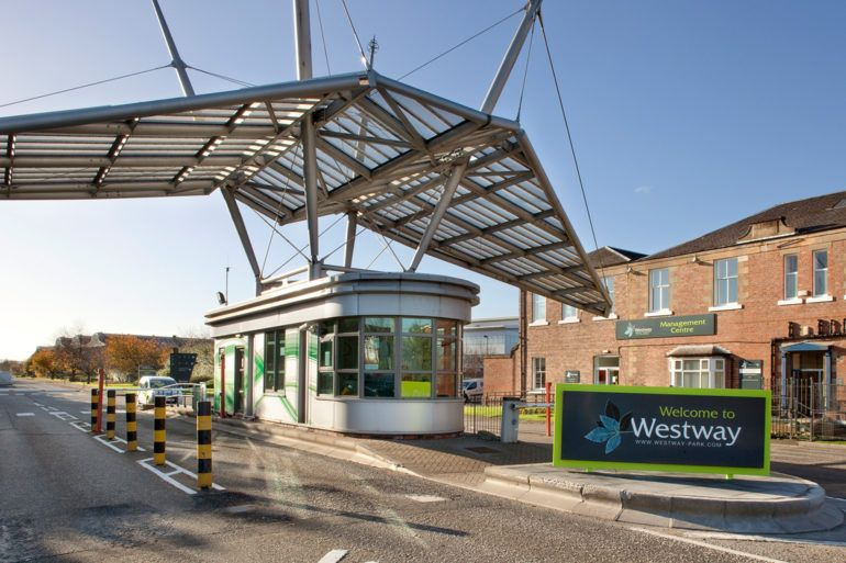 Entrance to Westway Business Park