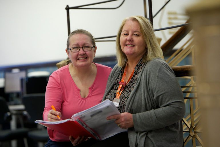 Employability support workers