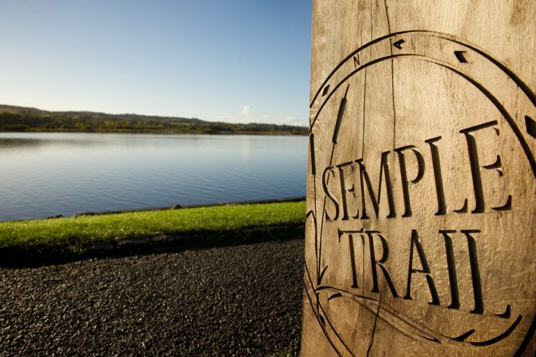 Semple Trail sign
