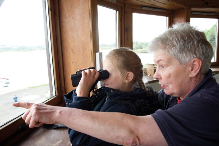 Bird watching at RSPB Lochwinnoch