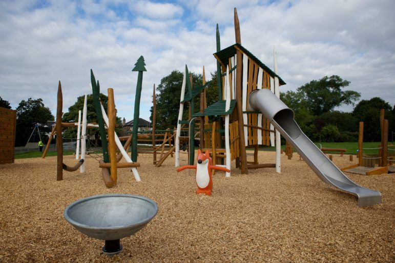 New play park at Barshaw Park
