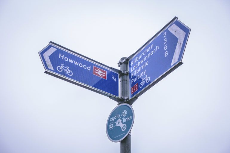 Nation Cycle Route 7 signpost