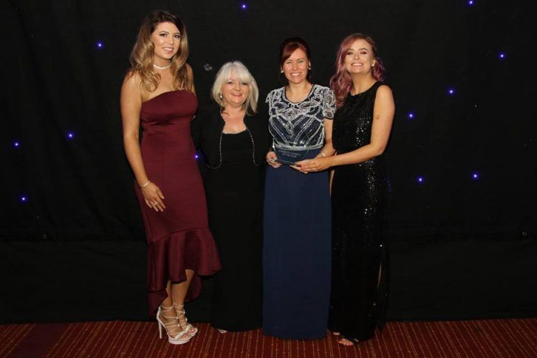 I Am Me won Charity of the Year in 2017