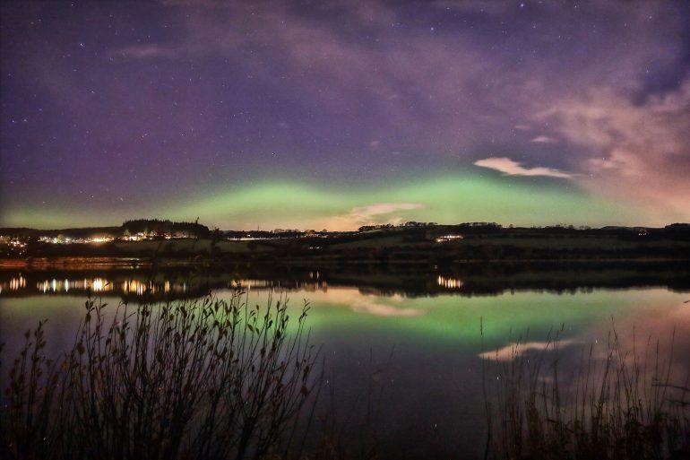 Renfrewshire Aurora by Gary Chittick