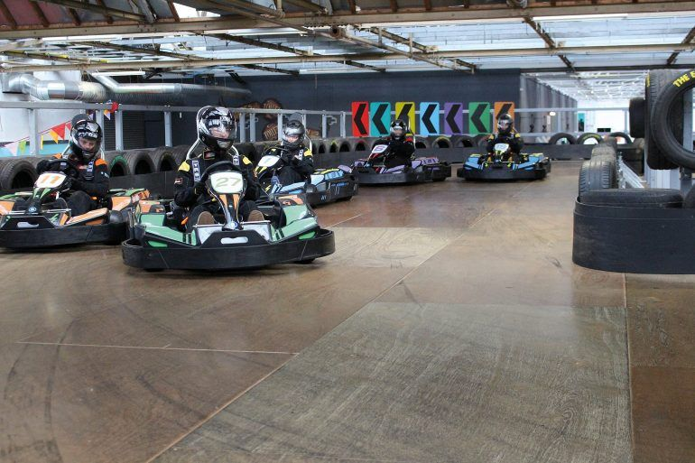 Go Karting at The Experience