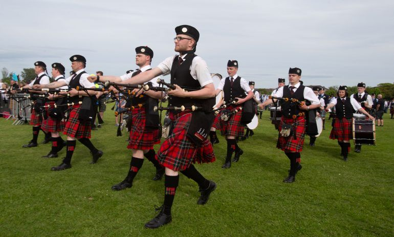 British Pipe Band Championships 10