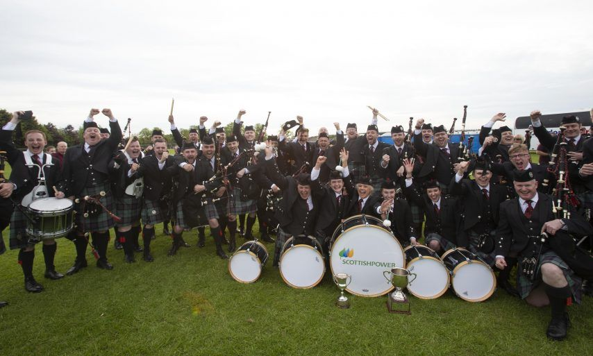 British Pipe Band Championships 13