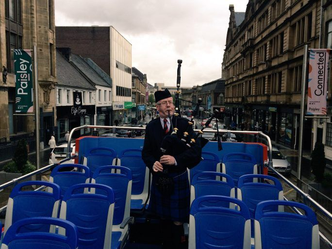 Pipe Band bus tour - AF