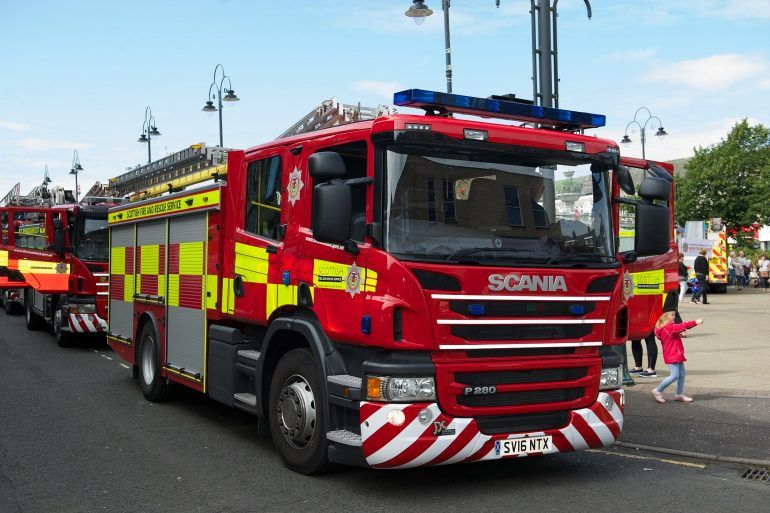 Johnstone Fire Engine Rally 2017