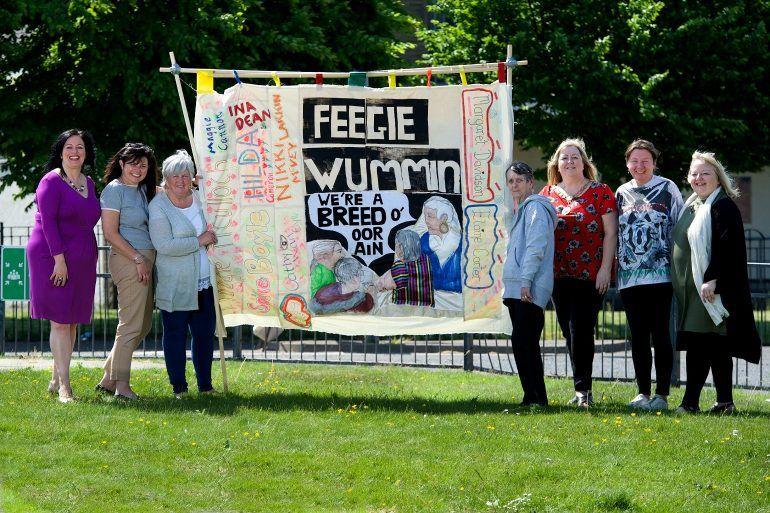 Ferguslie Women's Banner