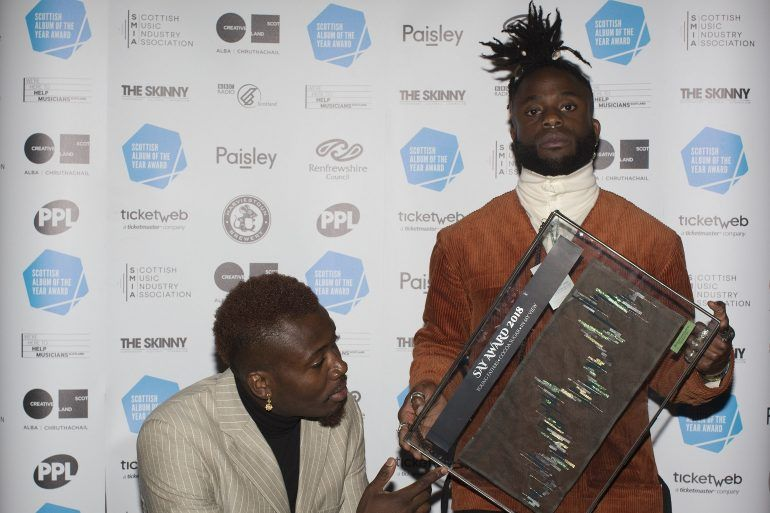 Young Fathers win 2018 SAY Award
