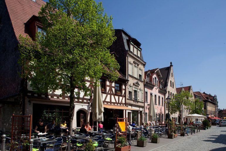Fürth's Gustavstraße