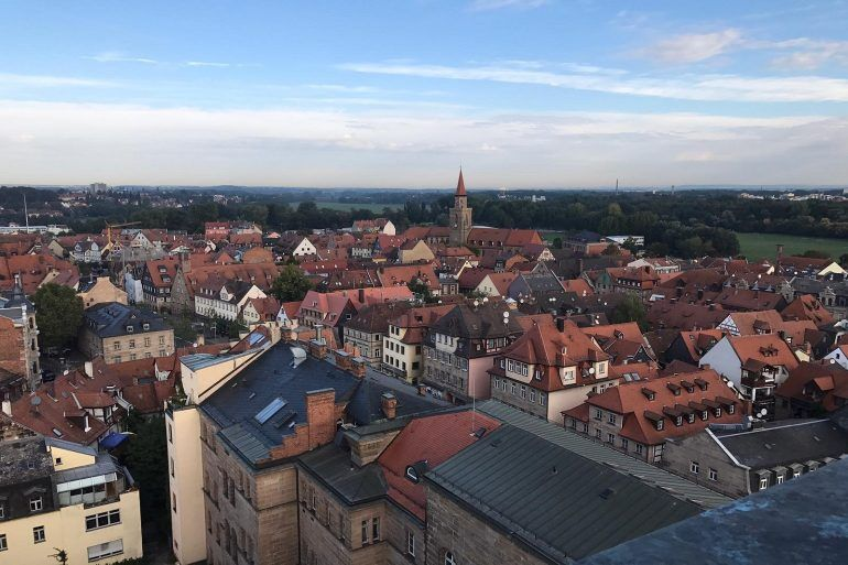 Up on the Town Hall Tower of Furth