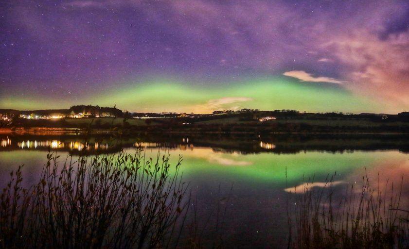 Aurora Borealis over Lochwinnoch