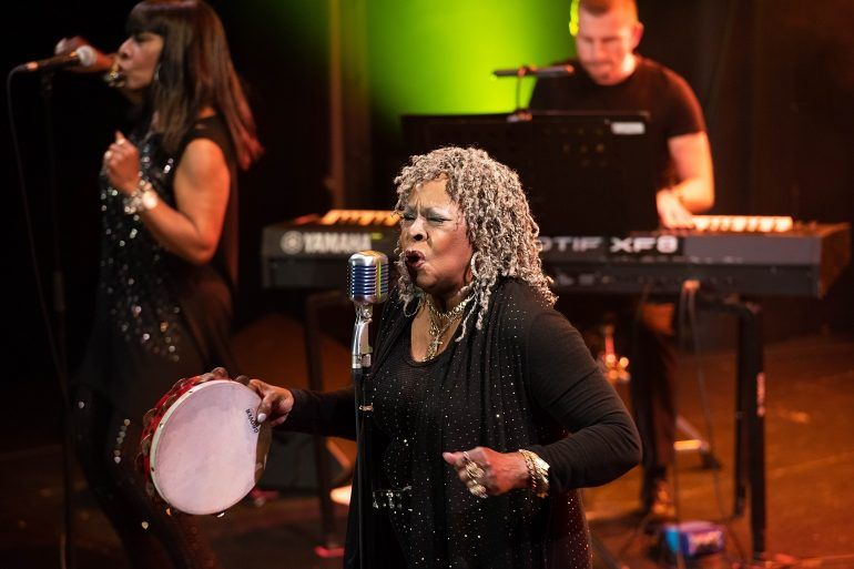 Martha Reeves sings in Paisley Town Hall