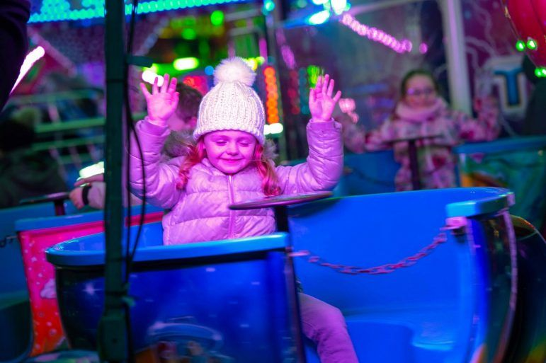 Carousel at Johnstone Christmas Lights