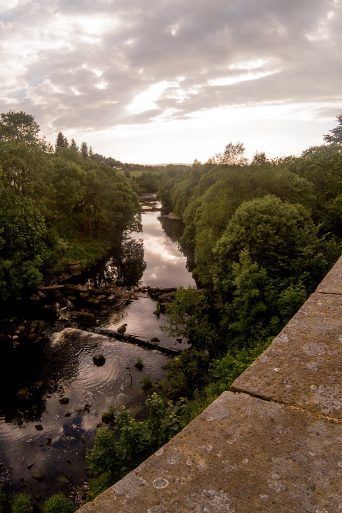 View of River Gryffe from Bridge of Weir