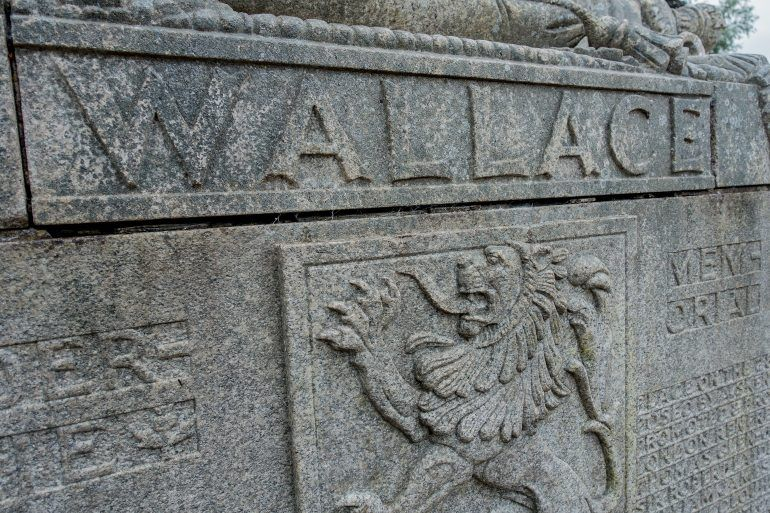 Wallace Monument detail, Elderslie