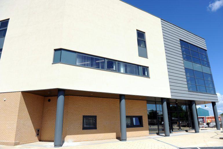Tweedie Hall building in Linwood