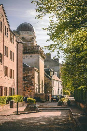 Coats Observatory on Oakshaw Street, Paisley
