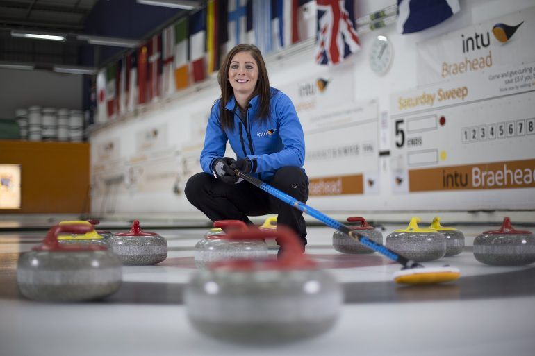 Scottish curling star Eve Muirhead