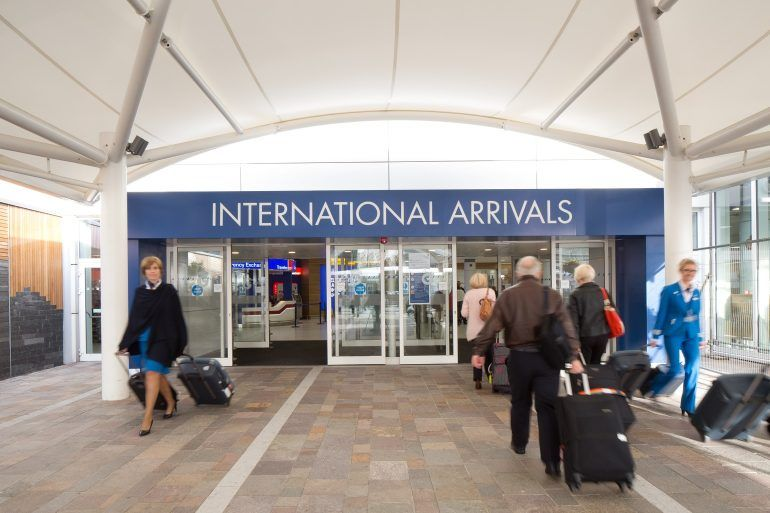 Glasgow Airport International Arrivals