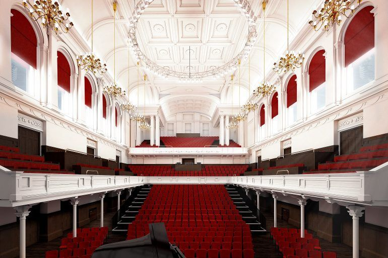 Artist's impression of Paisley Town Hall