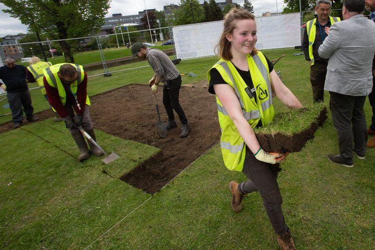 The Big Dig at Paisley Abbey