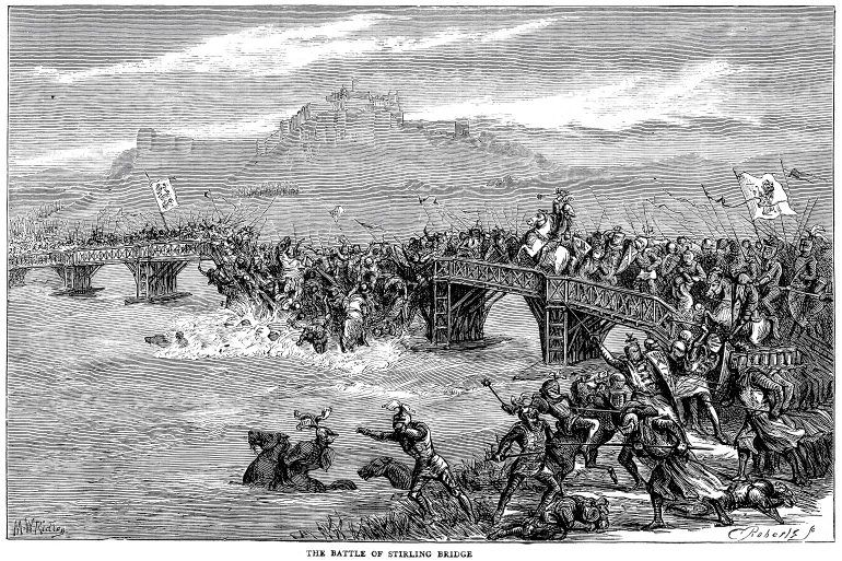 William Wallace - Battle of Stirling Bridge 1297