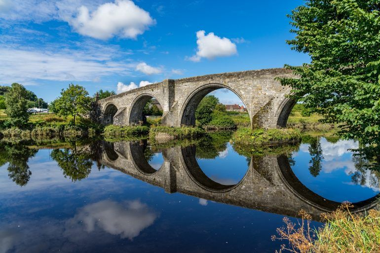 William Wallace - Stirling bridge in Scotland