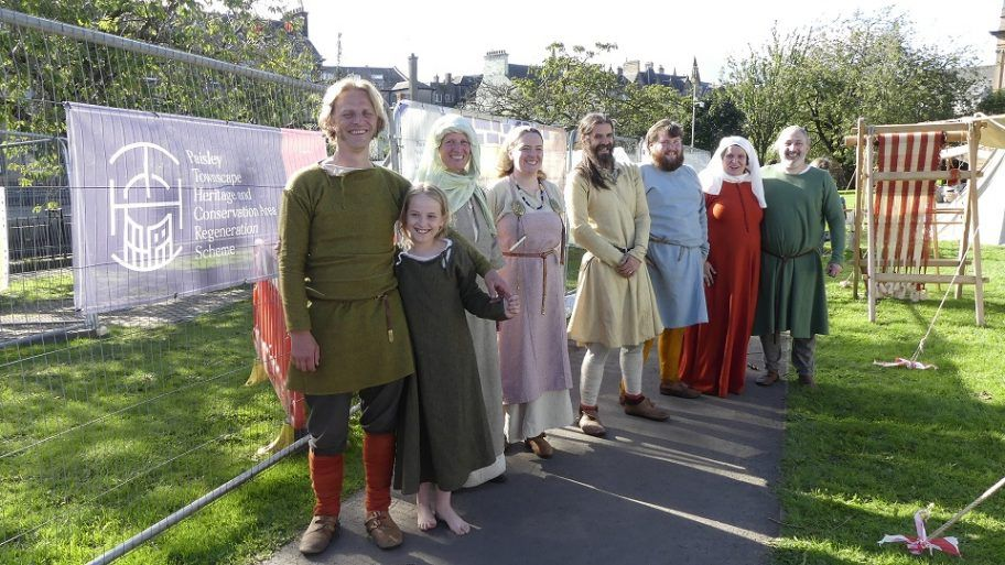 Living historians at Doors Open Days