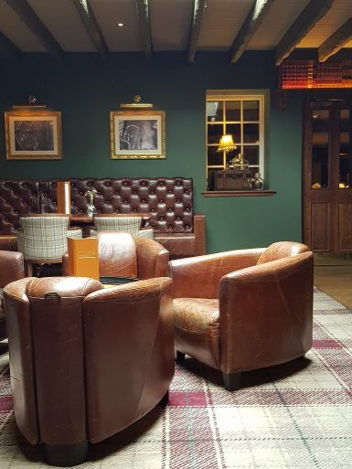 The Bowfield Hotel and Spa bar area
