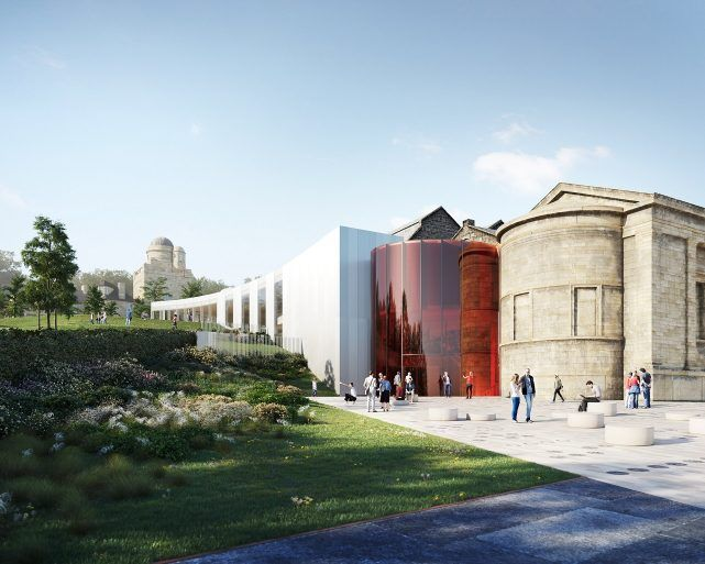 Paisley Museum Reimagined Entrance Exterior