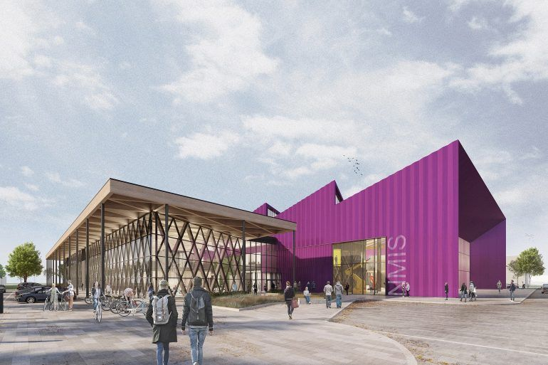 Artist's impression of National Manufacturing Institute Scotland