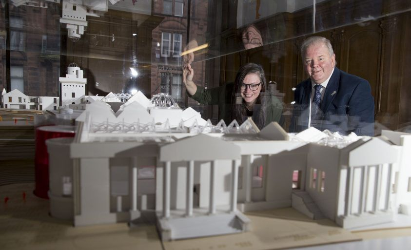 HLF Funding for Paisley Museum - Councillor Hughes and Martyn Wade