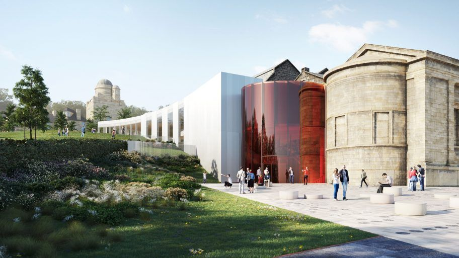Artist's impression of Paisley Museum Reimagined
