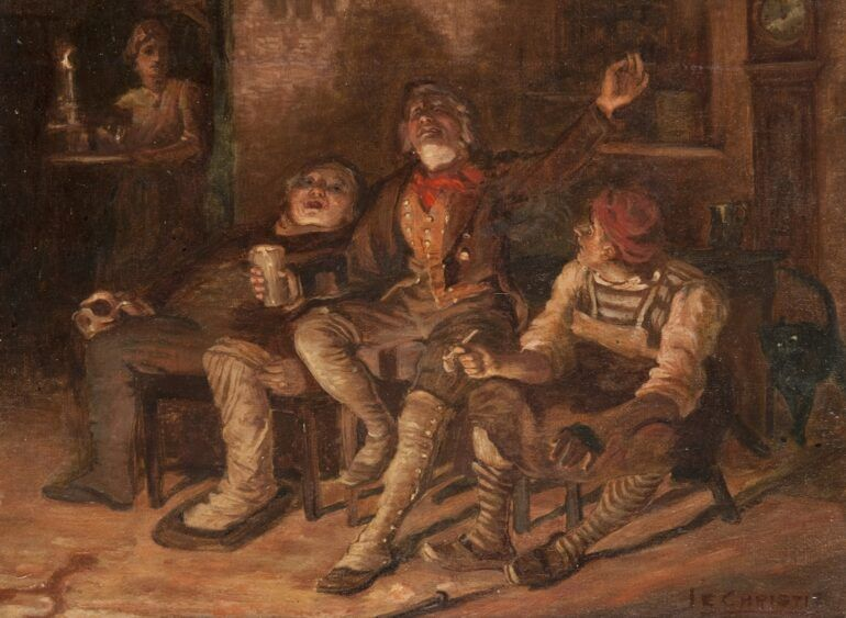 Tam O'Shanter, James Elder Christie (1847–1914), Paisley Art Institute Collection held by Paisley Museum, Renfrewshire Leisure