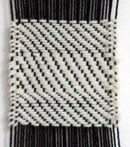 Example of a 1/3 Twill Weave