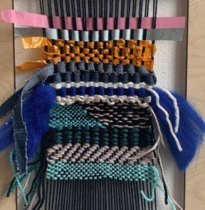 Example of Experimental Weaving
