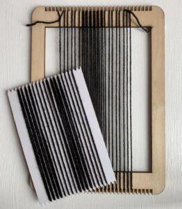 3. Preparing the loom