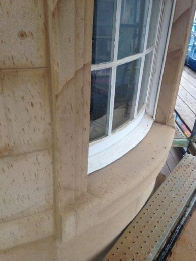 41 High St - new curved window