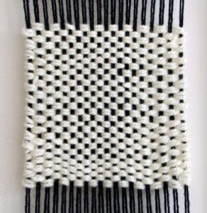Example of a Hopsack Weave