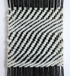 Example of 2/2 Twill Weave