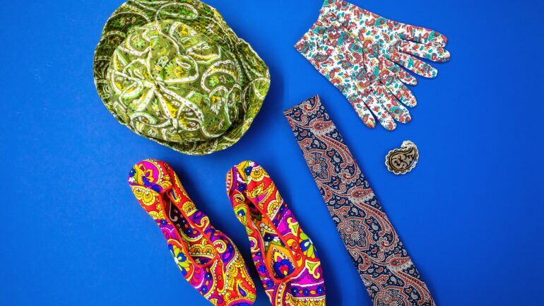 Paisley pattern objects in Paisley Museum collection