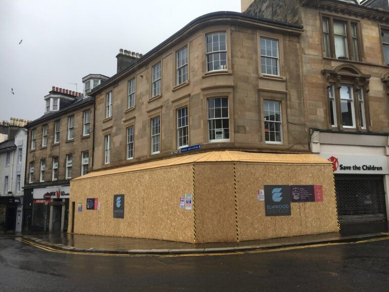 41 High St - during the works